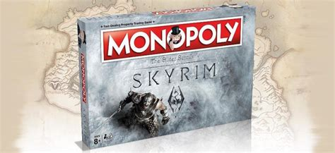 Skyrim Monopoly is franchise's latest themed game set