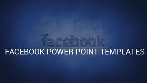 9+ Facebook PowerPoint Templates – Free Samples, Examples