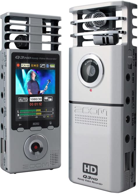 Zoom Q3HD Handy Video Recorder   zZounds