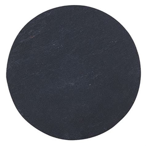 Slate Round Serving Plate 20cm