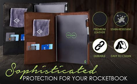 Genuine Soft Leather Cover for Rocketbook Everlast Core