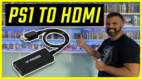PS1 To HDMI Cable Pound HDMI Adapter - YouTube