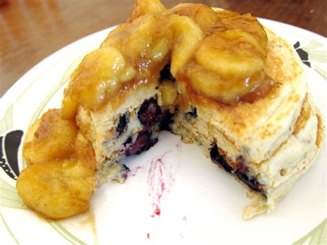 Todd's Famous Blueberry Pancakes - Recipegreat