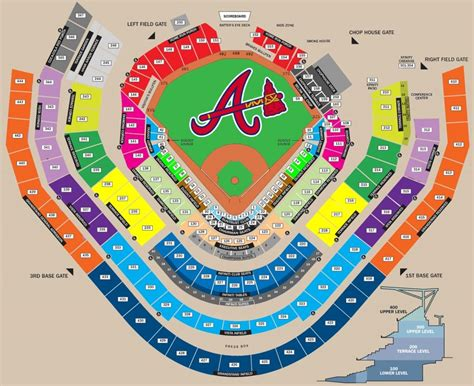 The Amazing braves   Seating charts