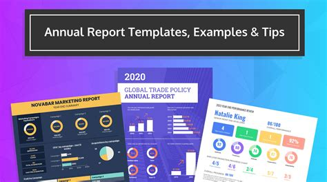 Annual Report Design Templates & Examples - Venngage