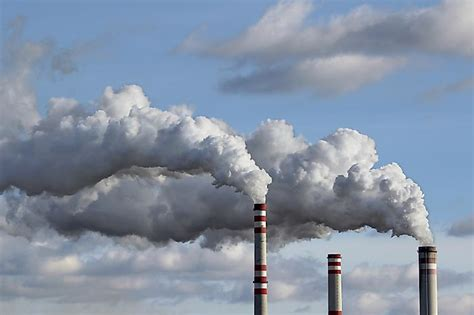 US States Most Affected By Industrial Air Pollution