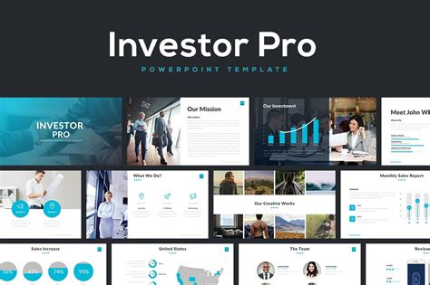 Investor Pro Powerpoint Template ~ PowerPoint Templates
