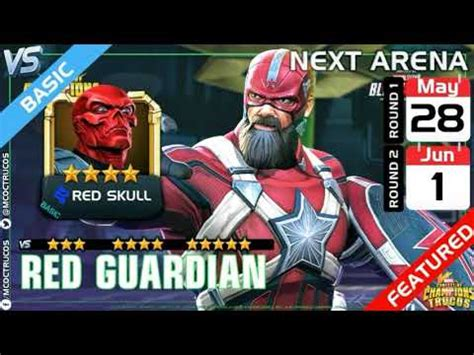 Red Guardian and Red Skull Round 1 Arena Cutoff