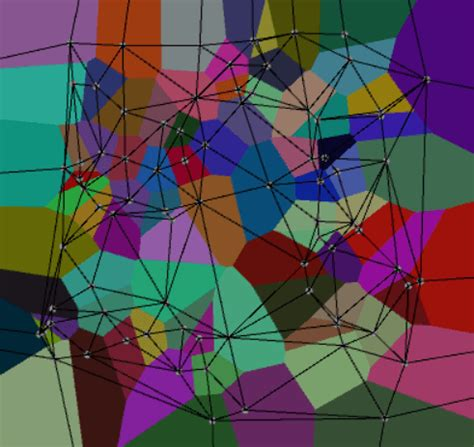 Use math to solve problems in Unity with C# - Voronoi