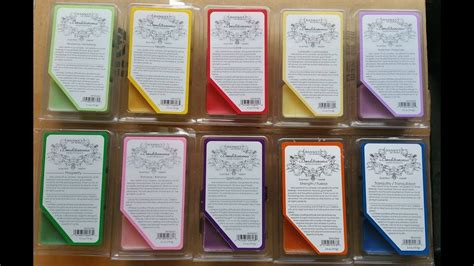 Hanna's Candles Benditaroma Scented Wax Melts Reviews