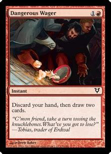 Dangerous Wager - Instant - Cards - MTG Salvation