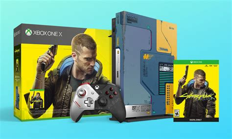 Save $100 on the Limited Edition Cyberpunk 2077 Xbox One X
