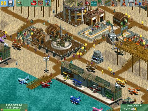 All Rollercoaster Tycoon 2 Time Twister Screenshots for PC