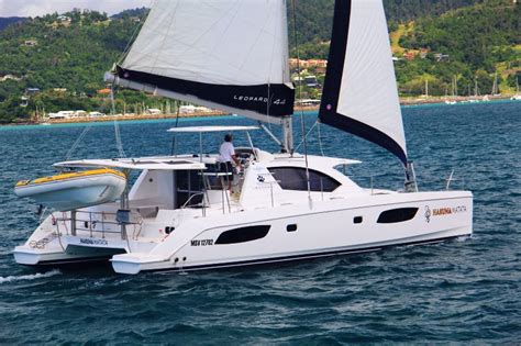 Luxury bareboating in the Whitsundays, our brand new