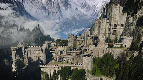 Kaer Morhen at The Witcher 3 Nexus - Mods and community