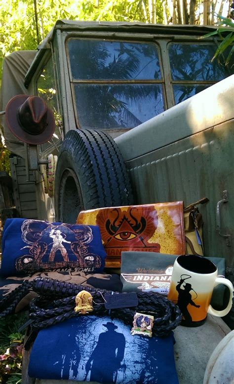 New Indiana Jones Merchandise Discovered at Disney Parks