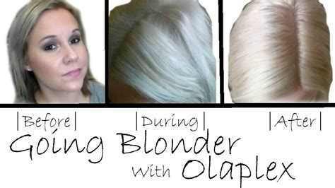 VLOG|Going Blonder With Olaplex|Results Of The Steps|NO