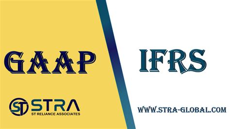 Difference between GAAP and IFRS? - STRA
